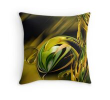 Golden  Farm stalk  Throw Pillow