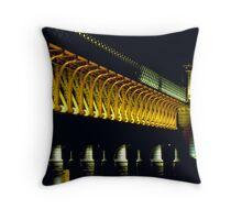 Central Bridge Throw Pillow