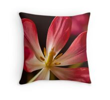 Tulip Blossom Throw Pillow