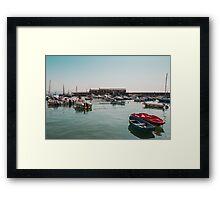 Lyme Regis Harbour Framed Print