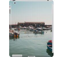 Lyme Regis Harbour iPad Case/Skin