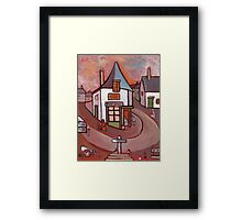 The village post office Framed Print