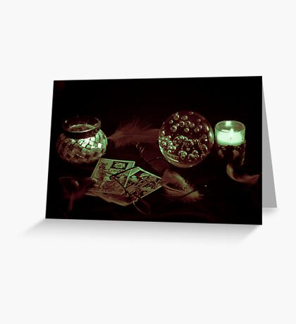 Dark Prophacy Greeting Card