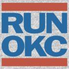 Run OKC Basketball Shirt by 785Tees