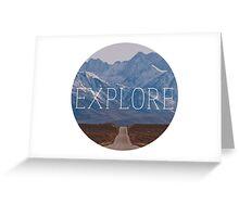 Explore 1 Greeting Card