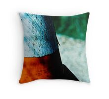 scales, scratches and shadows Throw Pillow