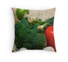 Vegtable Assortment Throw Pillow