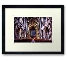 St. John's Cathedral, Denver Framed Print
