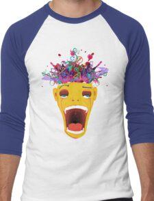 Exploosh Men's Baseball ¾ T-Shirt