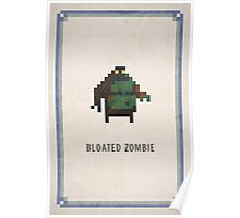 Pixel RPG - Bloated Zombie Poster