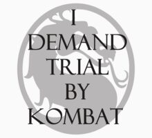 Trial by Kombat Kids Tee