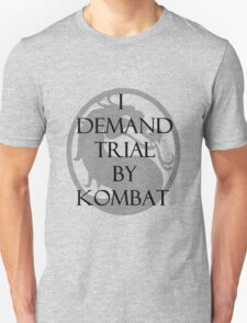 Trial by Kombat Unisex T-Shirt