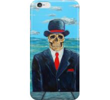 After Magritte iPhone Case/Skin