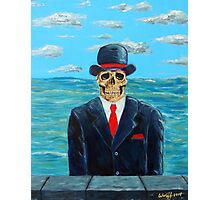 After Magritte Photographic Print