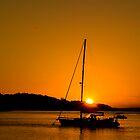 Nelson Bay Sunset No 1 by Rosalie Dale