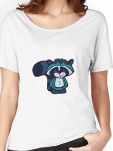 Dopey Raccoon Women's Relaxed Fit T-Shirt