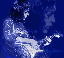 RORY GALLAGHER BLUESMAN by FieryFinn77