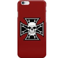 SKULL CROSS WRENCH iPhone Case/Skin