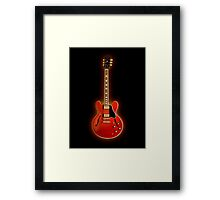 The red electric Framed Print