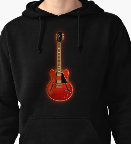 The red electric Pullover Hoodie