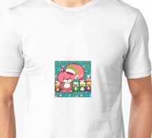 Mr. Squiggles and Friends Holiday Greeting Unisex T-Shirt