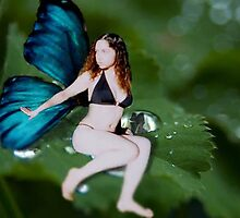 Look I'm a Fairy 1 by April Webb