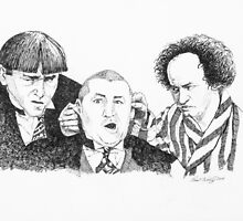 The 3 Stooges by Paul Wolff