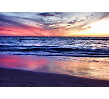 Indian Ocean Sunset Photographic Print