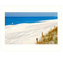 """""""Beach Runner"""" Art Print"""