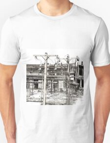 View From A Bridge Unisex T-Shirt