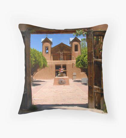 """Gates of Chimayo"" Throw Pillow"
