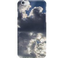 Clouds, sun burst #1 iPhone Case/Skin
