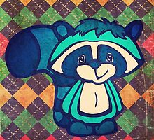 Dopey the Raccoon by SquirrelCam