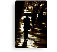 rainy wednesday Canvas Print