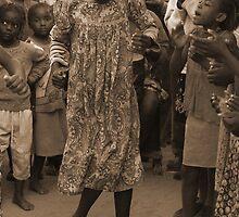 Ovambo Dance by Adrianne Yzerman
