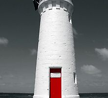 Red Door by Steven  Agius
