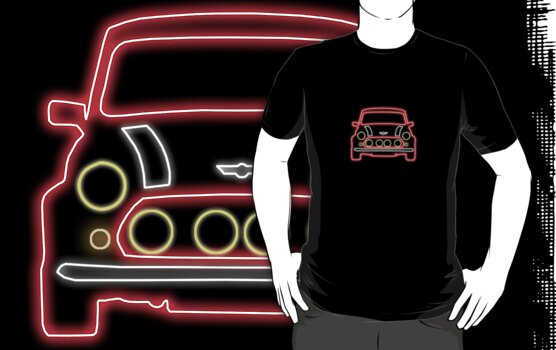 Mini Glow T Shirt - Red by Pinhead Industries