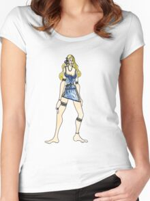 Dressed to Kill Women's Fitted Scoop T-Shirt