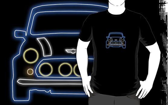 Mini Glow T Shirt - Blue by Pinhead Industries