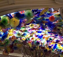 Floral Roof in The Bellagio Hotel Casino by judygal