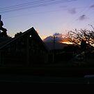 Sunset Church by xXDarkAngelXx