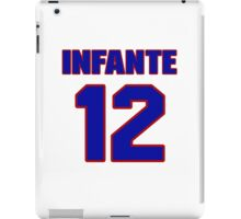 National baseball player Omar Infante jersey 12 iPad Case/Skin