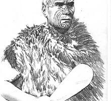 Maori Elder by Alleycatsgarden