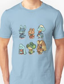 animal crossing pokemon crossover Unisex T-Shirt