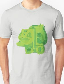 bulbasaur cool design old school pokemon T-Shirt