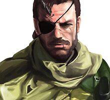 Metal Gear Big Boss Art by Solbessx