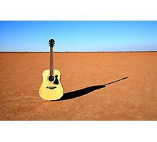 Air Guitar Photographic Print