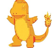 charmander cool design old school pokemon by MasterRacePC