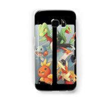 pokemon 3rd gen starters megaevolved cool design Samsung Galaxy Case/Skin