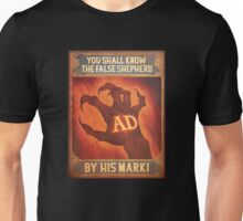 BioShock Infinite – You Shall Know the False Shepherd by His Mark! Poster Unisex T-Shirt